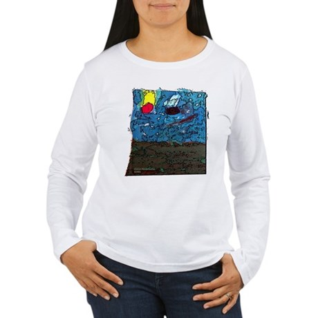 Two Asteroids Women's Long Sleeve T-Shirt