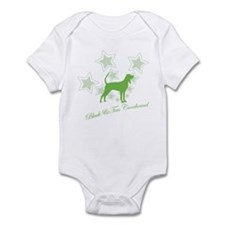 Black & Tan Coonhound Infant Bodysuit