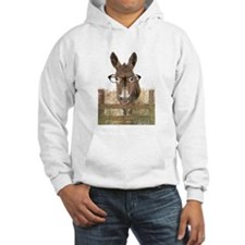Humorous Smart Ass Donkey Painting Hoodie Sweatshi