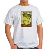 Wines of Tuscany, Italy Ash Grey T-Shirt