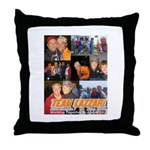 Team Lazzari Throw Pillow