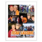Team Lazzari Small Poster