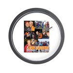Team Lazzari Wall Clock