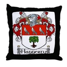 Haggerty Coat of Arms Throw Pillow