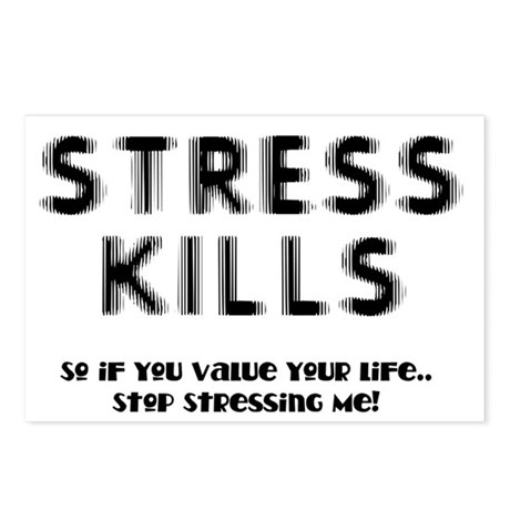 Stress Kills Postcards (Package of 8)
