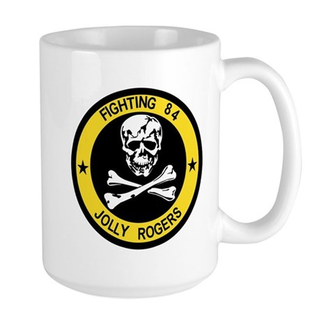 VF-84 Jolly Rogers Large Mug