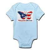 Mariposa Boricua Infant Bodysuit