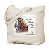 He Who Sings Prays Twice Tote Bag