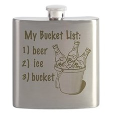 My Beer Bucket List Flask