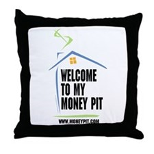 Cool Improvement Throw Pillow