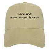 Lundehunds make friends Baseball Cap