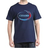Blue Geocacher Pizzaz T-Shirt