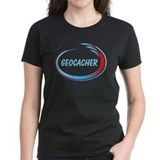 Blue Geocacher Pizzaz Tee