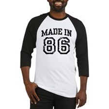 Made In 86 Baseball Jersey