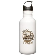 Old Time Choo Choo Train Water Bottle