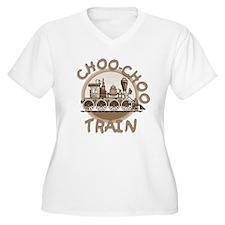 Old Time Choo Choo Train Plus Size T-Shirt