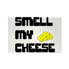 Smell My Cheese Rectangle Magnet
