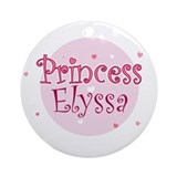 Elyssa Ornament (Round)