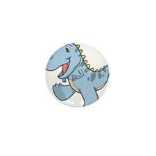 Playful Baby Dino Mini Button