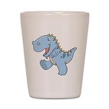 Playful Baby Dino Shot Glass