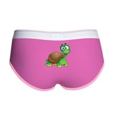 Funny Cartoon Turtle Women's Boy Brief