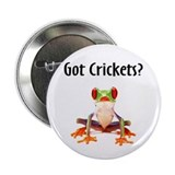 "Red Eyed Tree Frog 2.25"" Button (100 pack)"