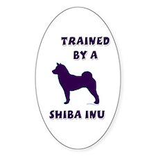 Shiba Ppl Oval Decal