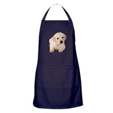 Golden Lab Apron (dark)