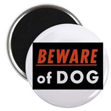 "Beware of Dog 2.25"" Magnet (10 pack)"
