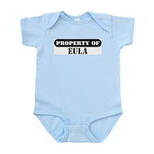 Property of Eula Infant Bodysuit