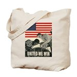 United We Win Tote Bag