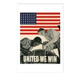 United We Win Postcards (Package of 8)