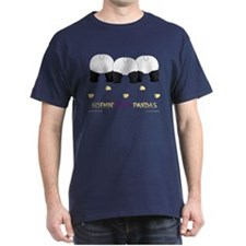 Nothin' Butt Pandas Navy T-Shirt