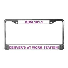 Cool Storefronts License Plate Frame