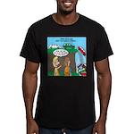 Remote Parking Men's Fitted T-Shirt (dark)