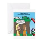 Remote Parking Greeting Cards (Pk of 20)