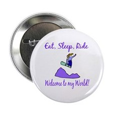 "Eat, sleep, ride 2.25"" Button (10 pack)"