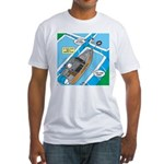 Water Rescue Fitted T-Shirt