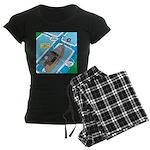 Water Rescue Women's Dark Pajamas