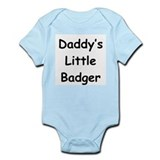 Daddy's Little Badger Infant Bodysuit