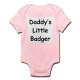 Daddy's Little Badger Onesie