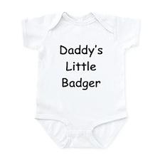 Daddy's Little Badger Onesie