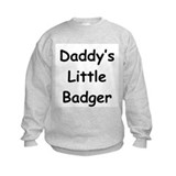 Daddy's Little Badger Jumpers