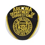 Arizona Corrections Ornament (Round)