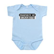 Property of Elisa Infant Bodysuit