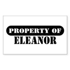 Property of Eleanor Rectangle Decal
