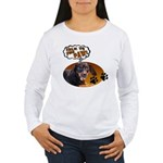 Dachshund Paw Women's Long Sleeve T-Shirt