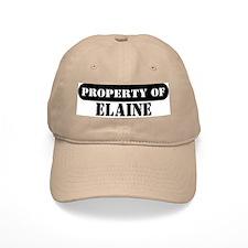 Property of Elaine Baseball Cap