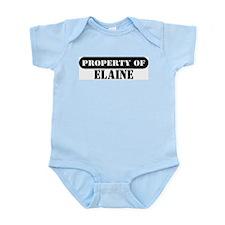 Property of Elaine Infant Bodysuit