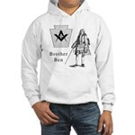 Brother Mason Ben Franklin, abstract Hooded Sweats